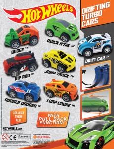 Hot wheels drift cars