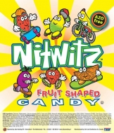 Nitwitz fruit shaped